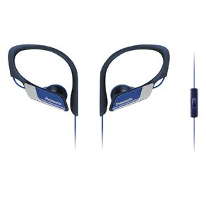 Panasonic Sports Clip Headphones Blue