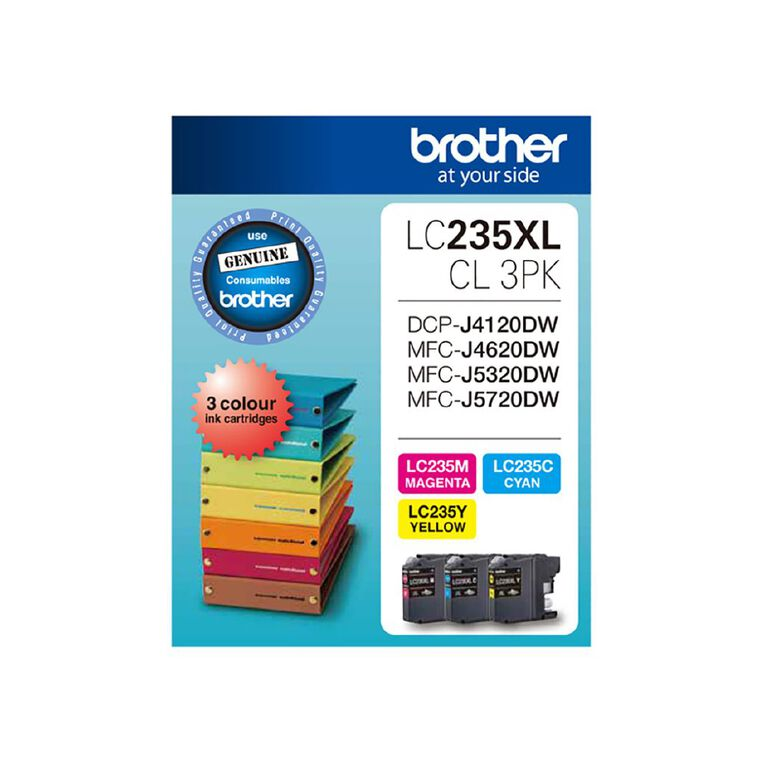 Brother LC235XLCL Tri-Colour Pack, , hi-res