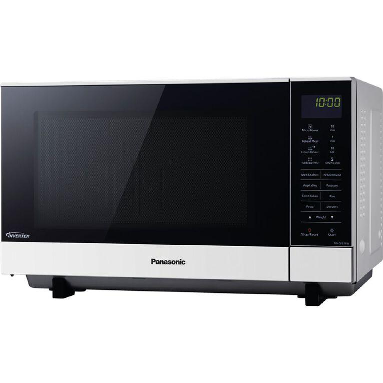 Panasonic 27 Litre Flatbed Inverter Microwave, , hi-res