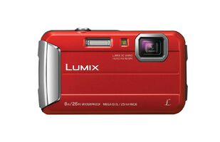 Panasonic DMC-FT30GN-R Tough Camera Red