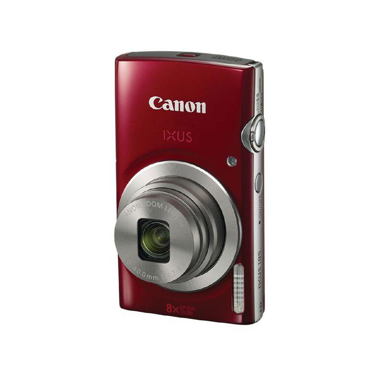 Canon IXUS 185 Camera - Red, , hi-res