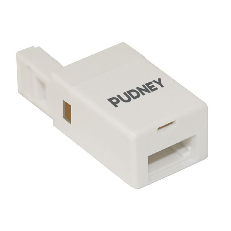 Pudney & Lee Phone Adapter RJ11 Plug to NZ Socket, , hi-res