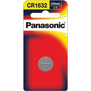 Panasonic 3V Lithium Battery 1 Pack 1632