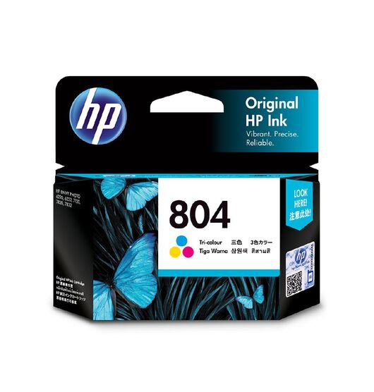 HP 804 Ink Tri-Colour
