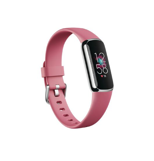 Fitbit Luxe Platinum/Orchid