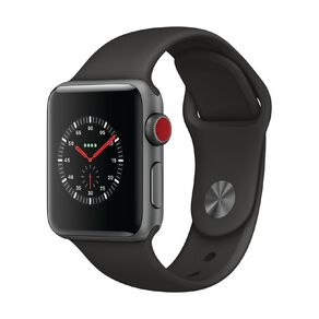 Apple Watch Series 3 GPS + Cellular, 38mm Space Grey Aluminium