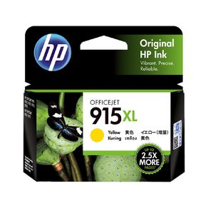 HP 915XL Origiinal Ink Cartridge - Yellow