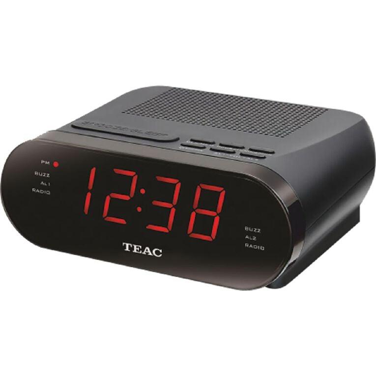 Teac Digital Alarm Clock Radio, , hi-res