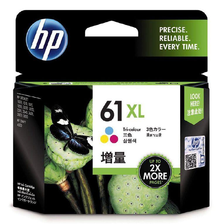 HP 61XL Ink - Colour, , hi-res