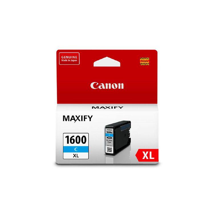 Canon PGI1600XL Ink - Cyan, , hi-res