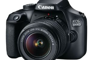 Canon EOS 3000D DSLR Camera with 18-55mm Lens