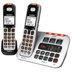 Uniden SSE45+1 Sight and Sound Enhanced Twin Cordless Phone System