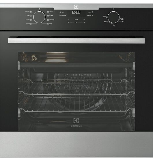 Electrolux 60cm Stainless Steel 80L 8 Multifunction Oven