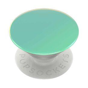 Popsockets PopGrip Premium Colour Chrome Seafoam