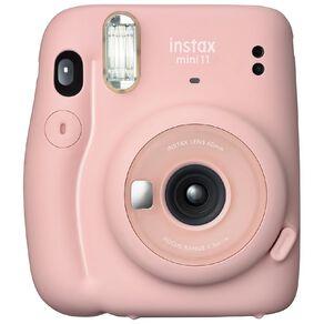 Fujifilm Instax Mini 11 Instant Photo Camera - Blush Pink