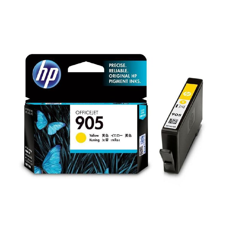 HP 905 Ink - Yellow, , hi-res