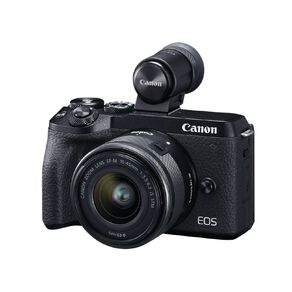Canon EOS M6 Mark II Mirrorless Camera with 15-45mm Lens