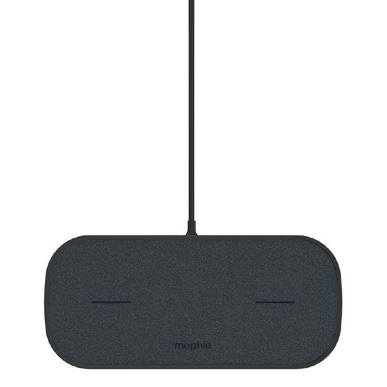 Mophie Dual Wireless Charging Pad Black AU, , hi-res