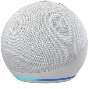 Amazon Echo Dot 4th Gen with Alexa Glacier White