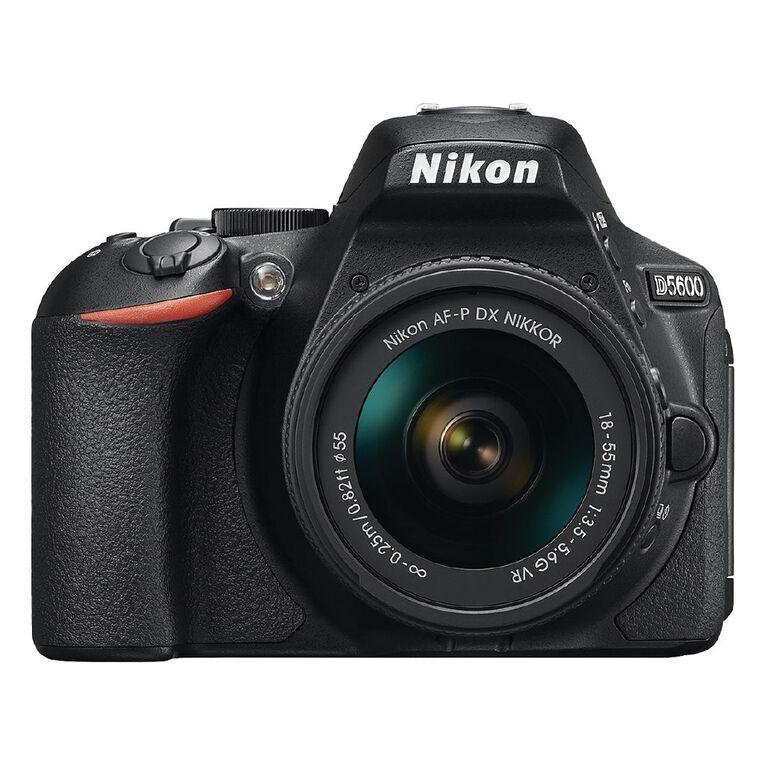 Nikon D5600 DSLR Camera with 18-55mm Lens, , hi-res