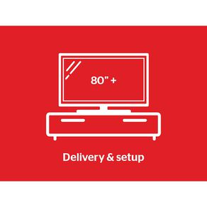 """Tech Solutions TV Delivery & Set Up Service 80"""" & above"""