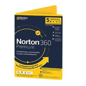 Norton 360 Premium 100GB 5 Device 12 Month Subscription