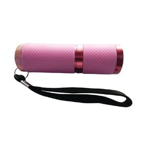 Endeavour 9 LED Glow In The Dark Torch - Pink