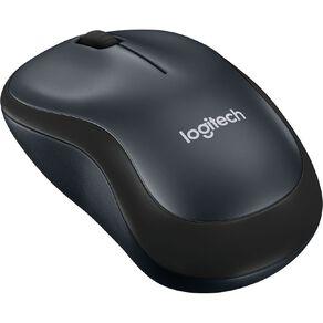 Logitech M221 Silent Wireless Mouse - Black