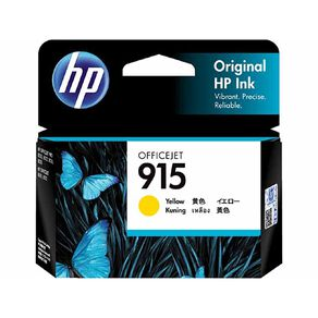 HP 915 Origiinal Ink Cartridge - Yellow