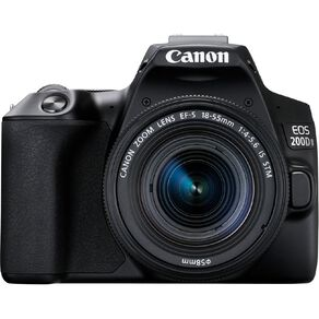 Canon EOS 200D Mark II DSLR Camera with 18-55mm Lens