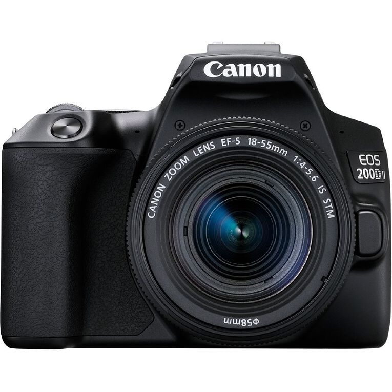 Image of Canon EOS 200D Mark II DSLR Camera with 18-55mm Lens