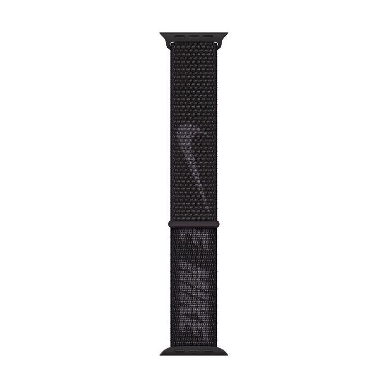 Apple 45mm Black Nike Sport Loop - Regular, , hi-res