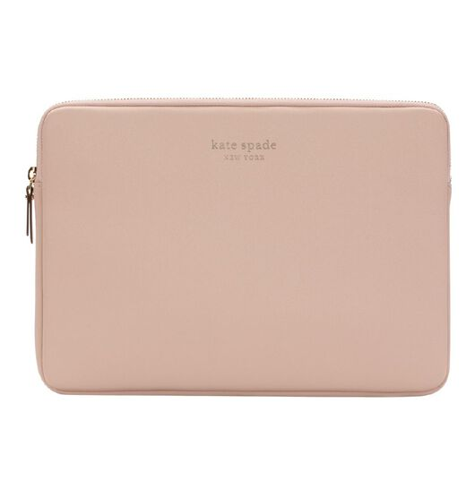 "Kate Spade Slim Sleeve For 13"" MacBook - Vellum And Gold Zipper"