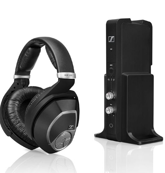 Sennheiser RS-195 Wireless Digital Headphone for TV and Music