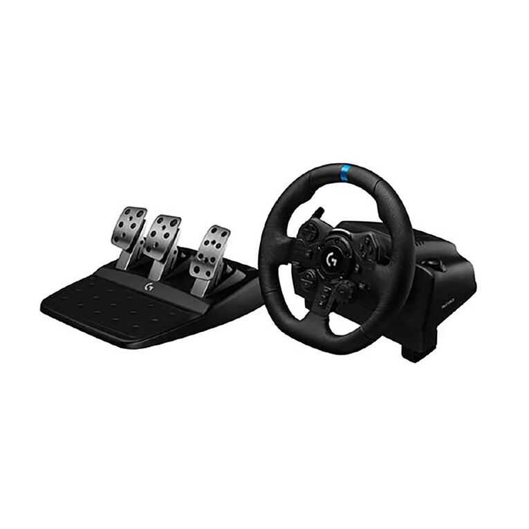 Logitech G923 Racing Wheel And Pedals For PS4 And PC, , hi-res