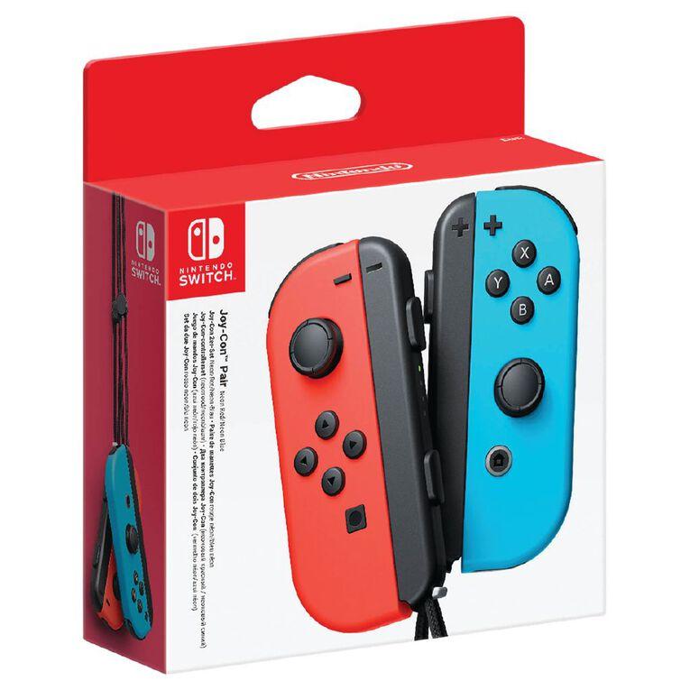 Nintendo Switch Joy-Con Controller Set - Neon Red/Blue, , hi-res