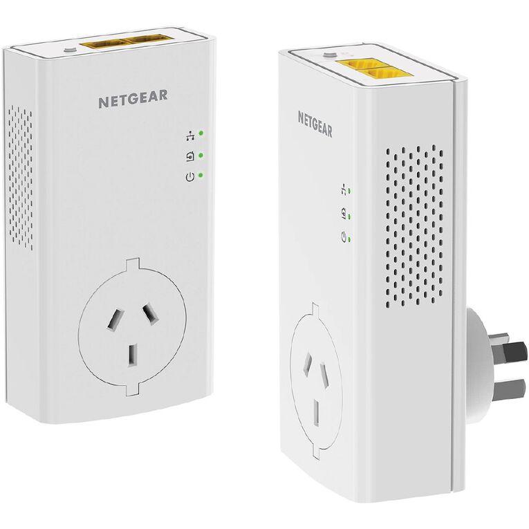 Netgear PLP2000 Pass Thru Powerline 2000 Set, , hi-res