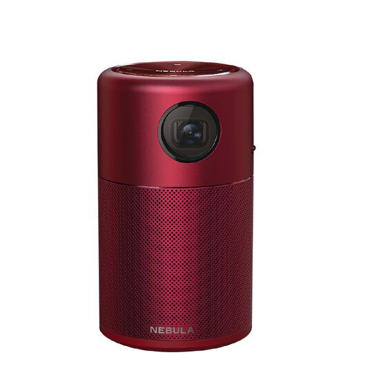 Anker Nebula Capsule Portable Projector Red