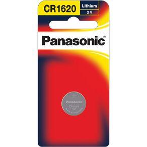 Panasonic 3V  Lithium Battery 1 Pack 1620