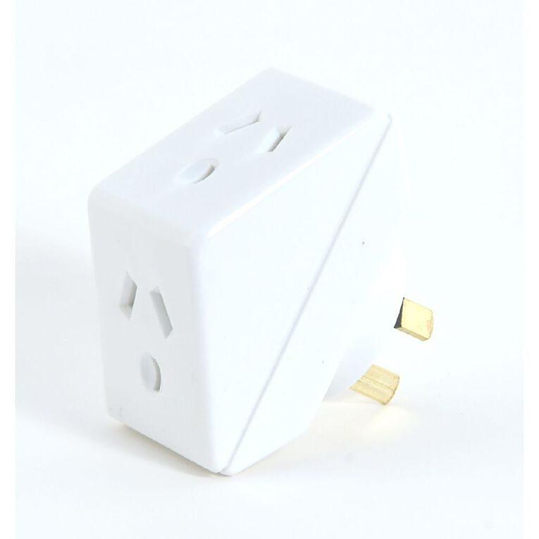 Endeavour Angled Double Adapter, , hi-res