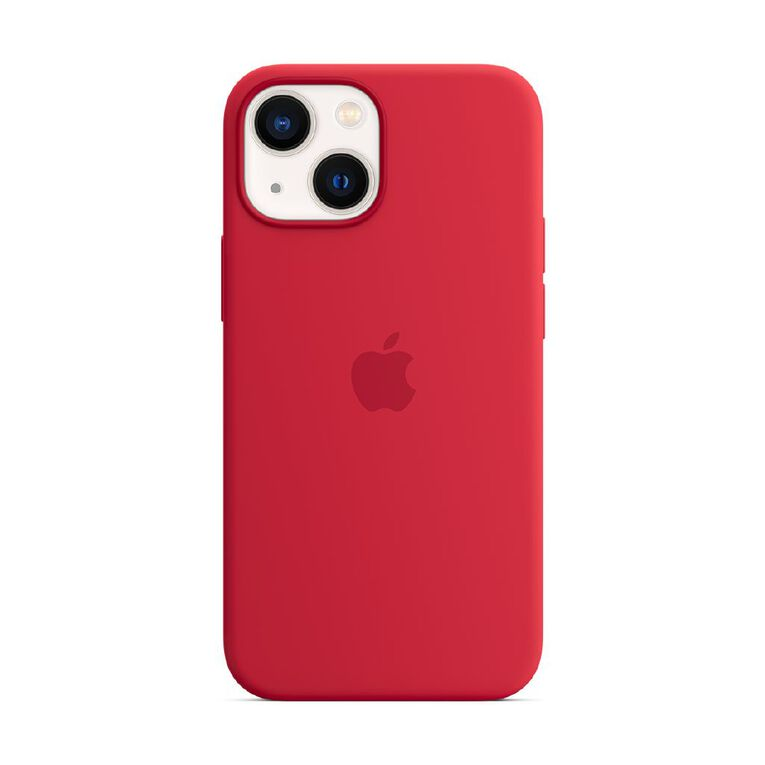 Apple iPhone 13 mini Silicone Case with MagSafe - Red, , hi-res