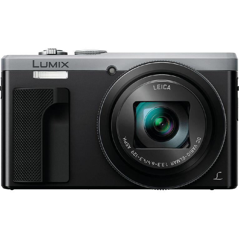 Panasonic Lumix TZ80 Camera - Silver, , hi-res