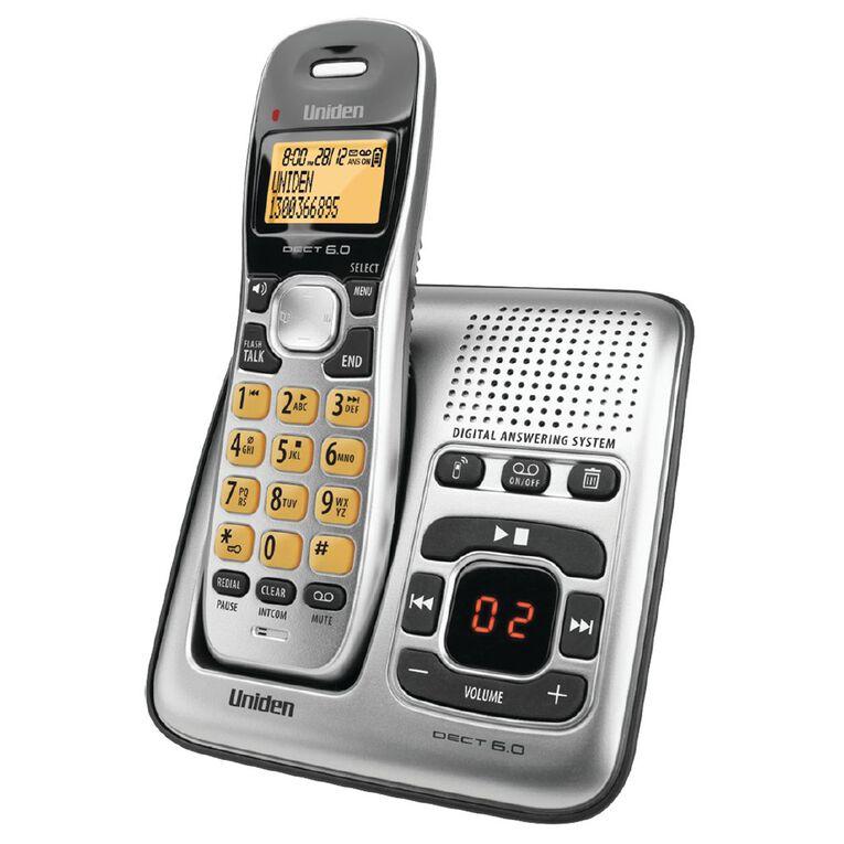 Uniden DECT1735 Digital DECT Cordless Phone with Answer Machine, , hi-res