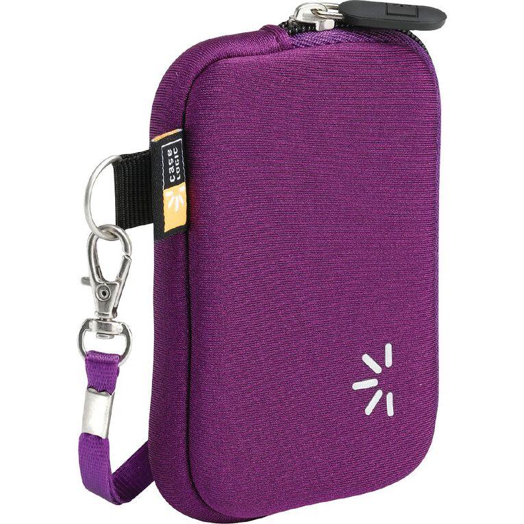 Case Logic Neoprene Compact Camera Case -  Purple, , hi-res