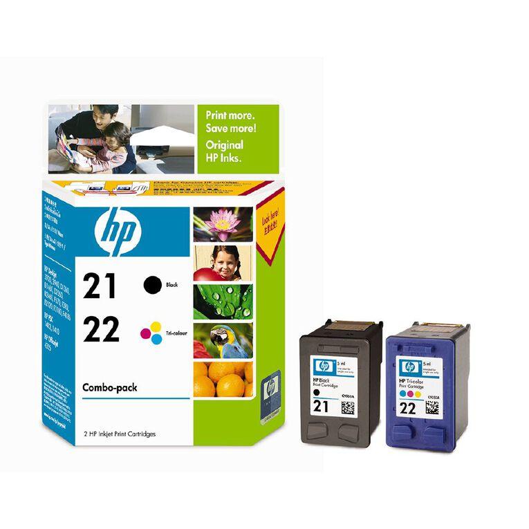 HP No.21 & No.22 Combo Pack, , hi-res