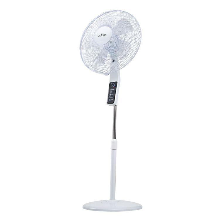 Goldair Whisper Quiet 40cm Pedestal Fan, , hi-res