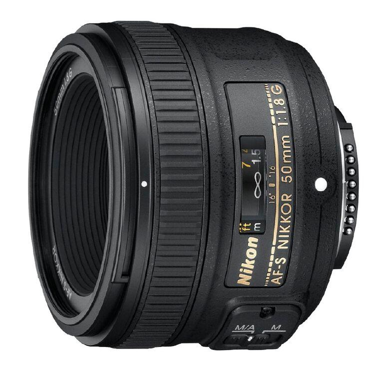 Nikon AF-S Nikkor 50mm F/1.8G Lens, , hi-res