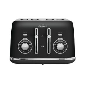 Sunbeam Alinea Select 4 Slice Toaster Black