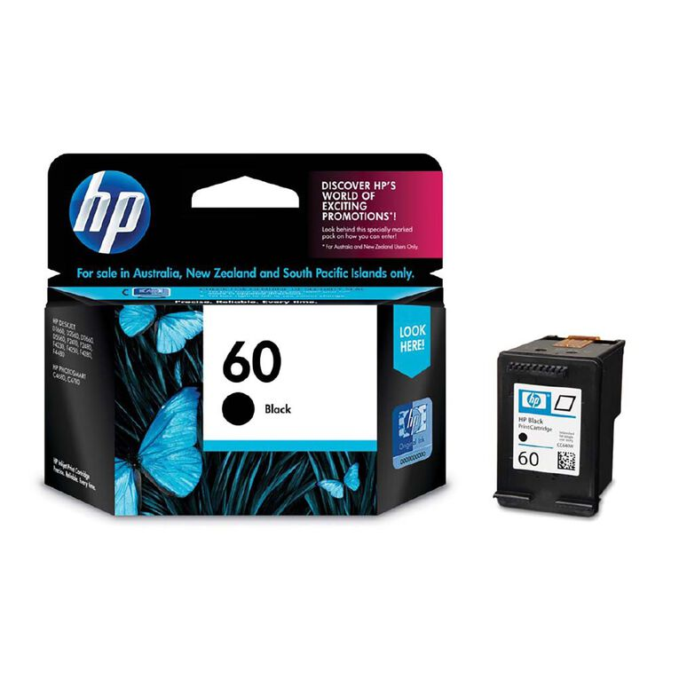HP NO.60 Ink - Black, , hi-res