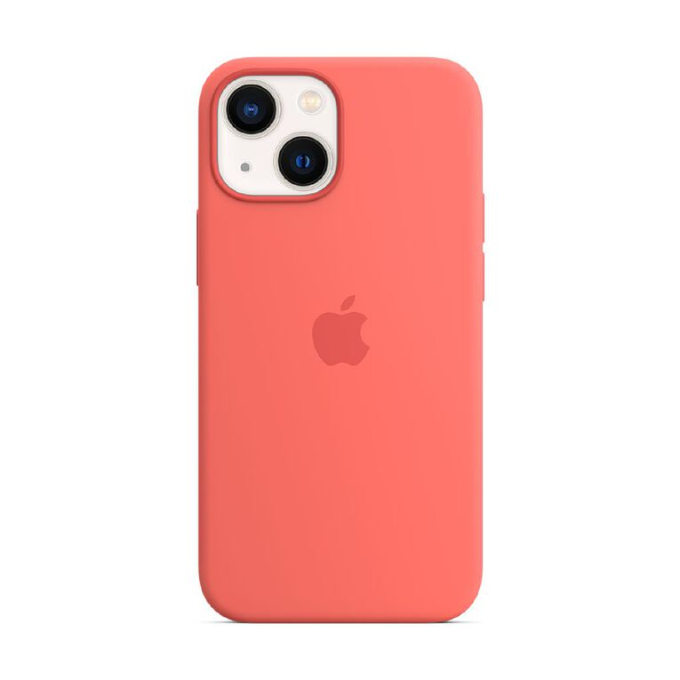 Apple iPhone 13 mini Silicone Case with MagSafe - Pink Pomelo, , hi-res